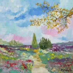 flowered fields