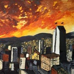 Medellin en llamas