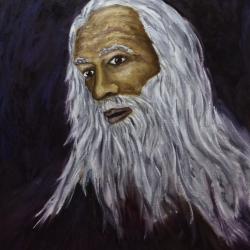 El viejo mago.