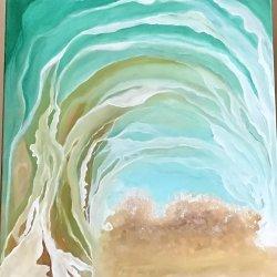"""Visual Symphony of Waves IV"""