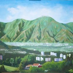 El Ávila desde Macaracuay. Caracas.