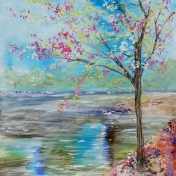 El lago en primavera