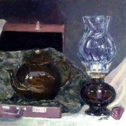 Pot and lamp
