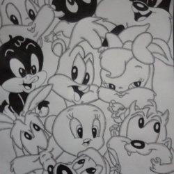 Dibujo Looney toons