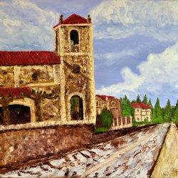 Villasomera south side chapel.