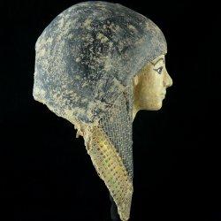 EGYPTIAN MUMMY MASK / MASCARA EGIPCIA