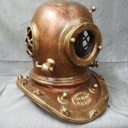 Ceramic diving suit