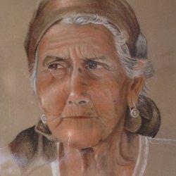 Anciana campesina