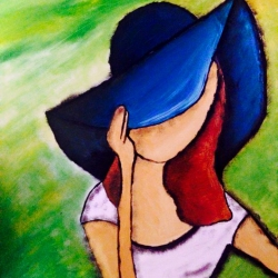 The girl in the hat