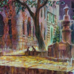 Soller, Mallorca. Original paintings online