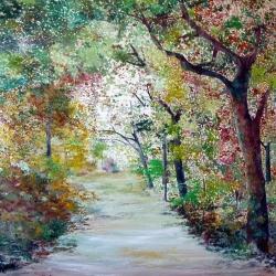 Sweet landscape in the memory
