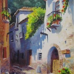 Typical street in Granada