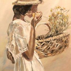 The chamomile basket