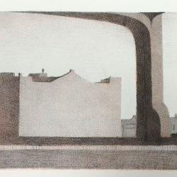 Sin Título, litografía Marcelo Fuentes