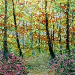 En caminos de un bosque