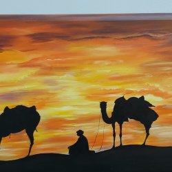 Walking in the Sahara