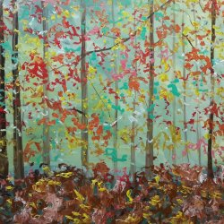 Winds with fallen leaves