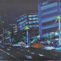 Avenida Diagonal de noche 61x46 ÓLEO (1024x751).jpg