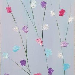 Flores 21 multicolor