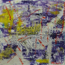 Abstracto violeta
