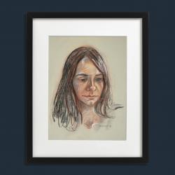 Retrato de joven modelo