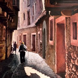 Albarracín. Contraluz.JPG