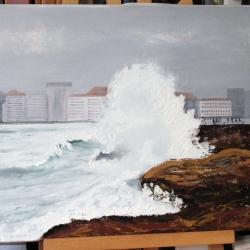 Temporal en A Coruña