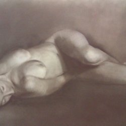 SHE Pastel and pencil on paper 60x80. 2013..jpg