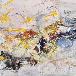Movimiento en el color abstracto
