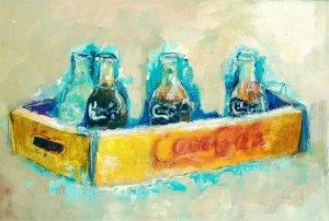 old soda box