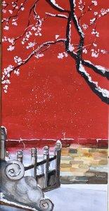 Nieves en el Palacio Imperial Chino
