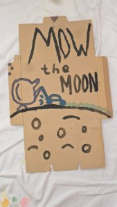 Mow the Moon
