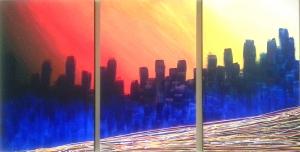Metropolis Inquieta (x 150 70 cm.)
