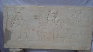 Relief: The vineyard and wine in ancient Egypt.