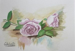 Rosas obra de Gilaberte