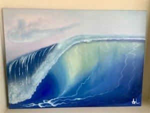 La fuerza de la ola