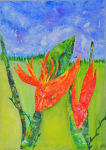 Heliconia for you