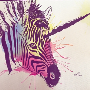 JUSTocomoLOVEo - Zebra