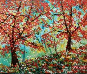 An autumnal corner
