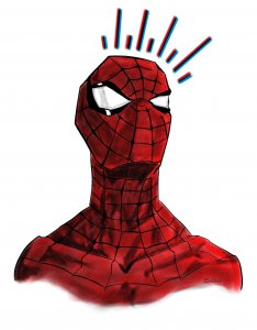 Spiderman sense arachnid