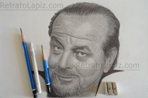 Jack Nicholson @Retratolapiz