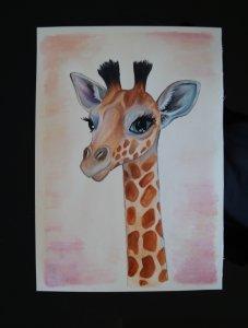 My sweet giraffe