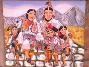 Danzantes de paucartambo-Peru