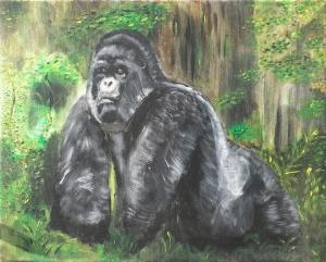 Górila Africano
