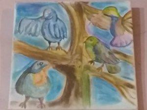 Pájaros adorados