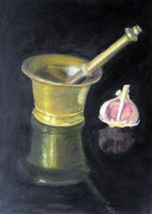 Still Life Garlic Mortar.jpg
