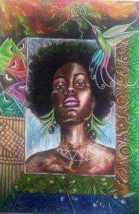 Black Afro Arica Azapa