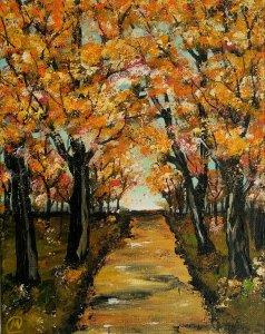 Bosque naranja