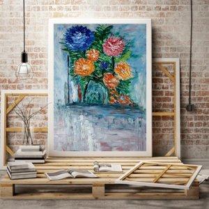 flor y color