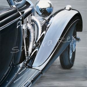 Detalle Mercedes 540 k